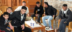 Aref Sameer Chbieteh and friends