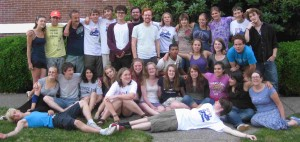 The 2010 Quaker Youth Pilgrimage. Photo: QYP.