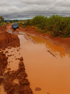 The road to Ambohidava. Photo: Money for Madagascar