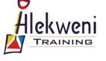 Hlekweni-training