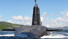 A royal navy submarine that is part of the UK nuclear deterrent