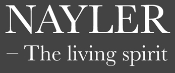 The Nayler logo in white text on a grey background