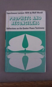 Prophets and Reconcilers. Photo courtesy of Friends House Library