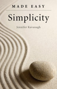 The cover of the book, Simplicity Made Easy, by Jennifer Kavanagh