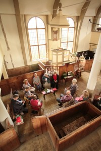Quaker Meeting for Worship taking place in Walpole.