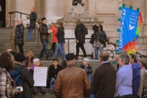 Quaker worship in London. Photo: Jez Smith