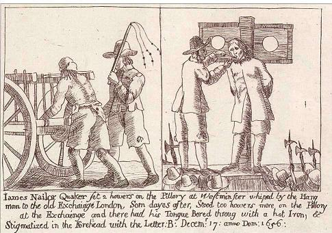 James Nayler receiving his punishment.