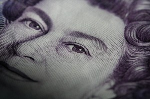An excerpt of the queen's head from a banknote. PhotoGraham/flickr CC